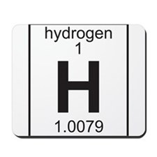 Element 1 - H (hydrogen) - Full Mousepad