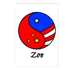 Zoe Postcards (Package of 8)