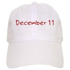 December 11 Baseball Cap