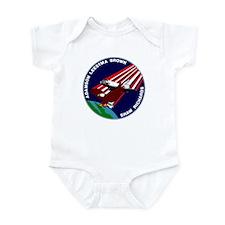 STS 28 Columbia Infant Bodysuit