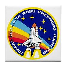 Atlantis: STS 27 Tile Coaster