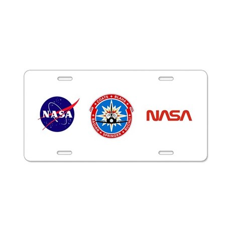 Discovery: STS 29 Aluminum License Plate