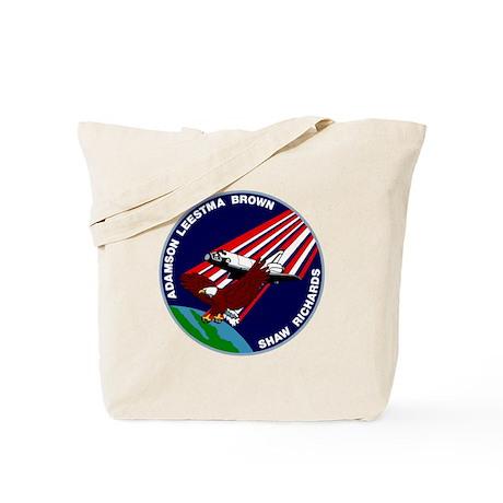 STS 28 Columbia Tote Bag
