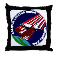 STS 28 Columbia Throw Pillow