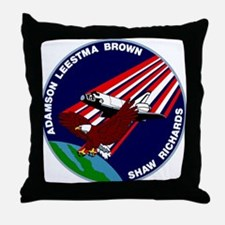 STS 28 Columbia Throw Pillow