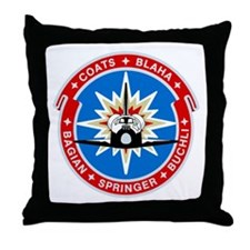 Discovery: STS 29 Throw Pillow