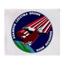 STS 28 Columbia Throw Blanket