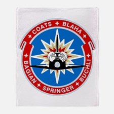 Discovery: STS 29 Throw Blanket