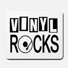 VINYL ROCKS Mousepad