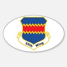 55th Wing Oval Decal