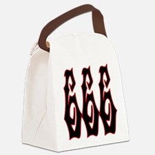 Red Gryphon 666 Canvas Lunch Bag