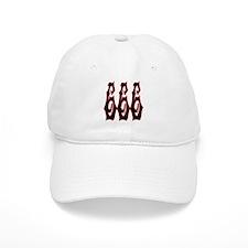 Red Gryphon 666 Baseball Cap