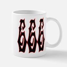 Red Gryphon 666 Mug