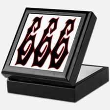 Red Gryphon 666 Keepsake Box