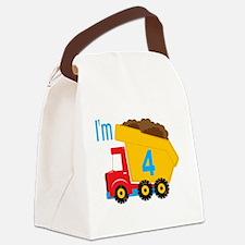 Dump Truck I'm 4 Lunch Bag