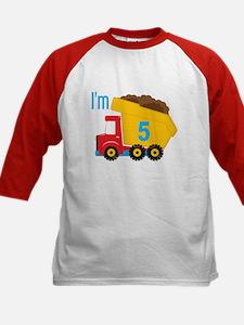 Dump Truck I'm 5 Shirt