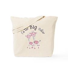 Big Sister Giraffes Tote Bag