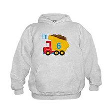 Dump Truck I'm 6 Hoodie