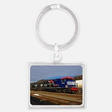Honor Our Veterens Landscape Keychain