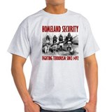 Fighting terrorism since 1492 Mens Light T-shirts