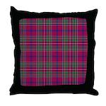 Tartan - Brown of Castledean Throw Pillow