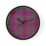 Tartan - Brown of Castledean Wall Clock