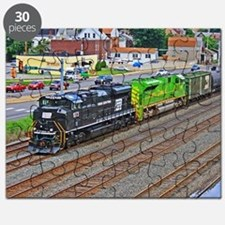 Norfolk Southern Heritage. Puzzle