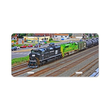 Norfolk Southern Heritage. Aluminum License Plate