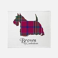Terrier - Brown of Castledean Throw Blanket