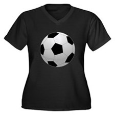 Soccer Ball Plus Size T-Shirt