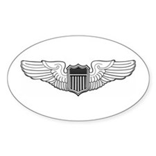 USAF Pilot Oval Decal