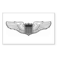 USAF Pilot Rectangle Decal