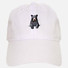 Pocket Black Bear Baseball Baseball Cap
