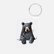 Pocket Black Bear Keychains