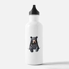Pocket Black Bear Water Bottle