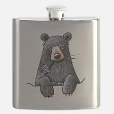Pocket Black Bear Flask