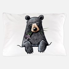 Pocket Black Bear Pillow Case