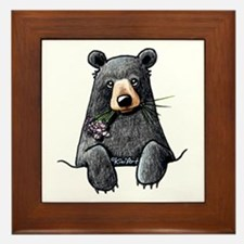 Pocket Black Bear Framed Tile