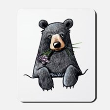 Pocket Black Bear Mousepad