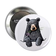 "Pocket Black Bear 2.25"" Button"
