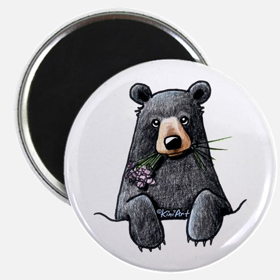 Pocket Black Bear Magnet