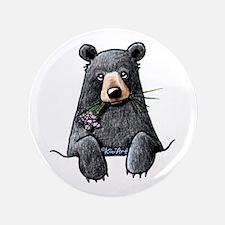 "Pocket Black Bear 3.5"" Button"