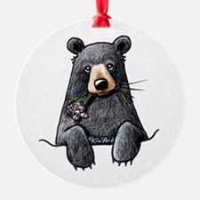 Pocket Black Bear Ornament