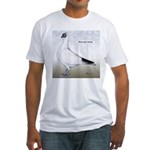 Polish Shortface Pigeon Fitted T-Shirt
