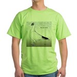 Polish Shortface Pigeon Green T-Shirt