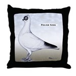 Polish Shortface Pigeon Throw Pillow