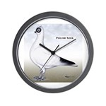 Polish Shortface Pigeon Wall Clock