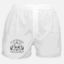 Gun Control Boxer Shorts