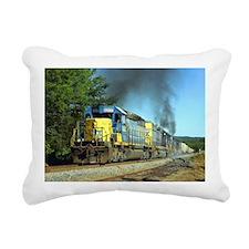 CSX Smoker Rectangular Canvas Pillow