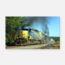 CSX Smoker Rectangle Car Magnet